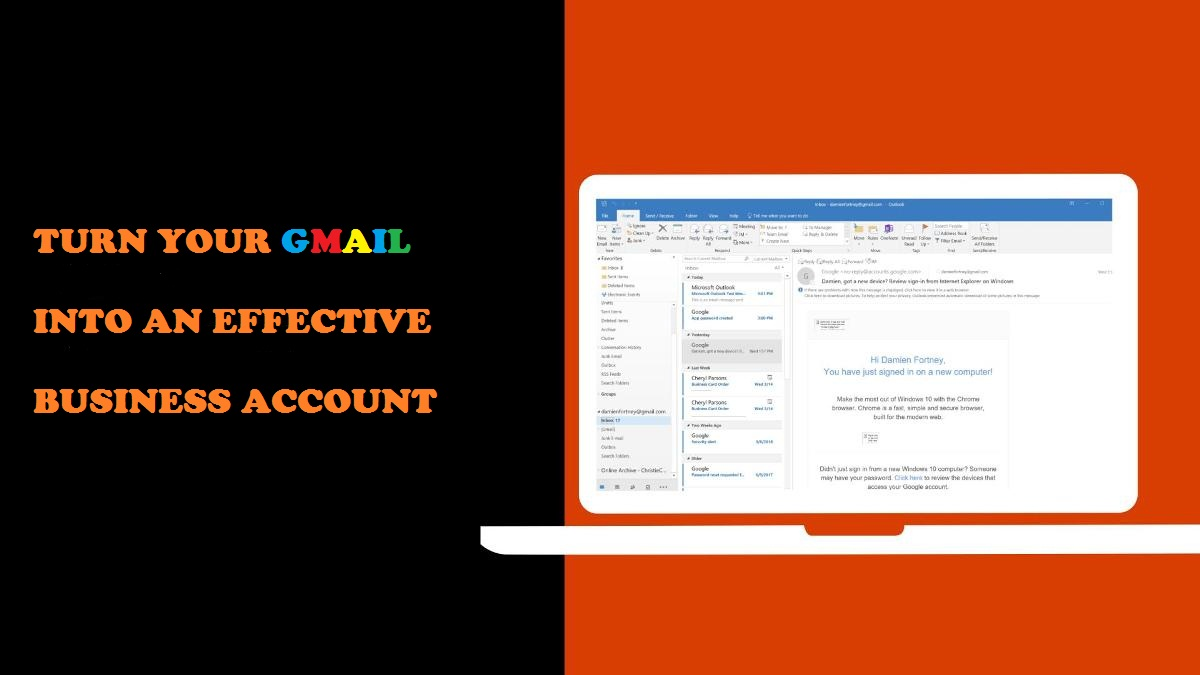 Gmail Business Account